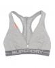 Superdry Women's Sports Bra Light Grey