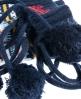 Superdry Fairisle Slipper Sock Navy