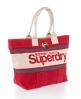 Superdry Brighton Tote Bag Red