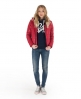 Superdry Polar Puffer Jacket Red