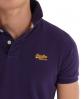 Superdry Classic Pique Polo Purple
