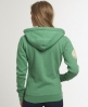 Superdry Polar Applique Zip Hood Green