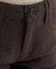 Superdry Boyfriend Tweed Shorts Brown