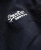 Superdry Study Duffle Jacket Navy