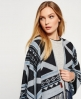 Superdry Kaya Blanket Cape Black