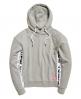 Superdry Paneled Urban Hoodie Light Grey