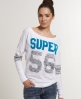Superdry Double Number T-shirt White
