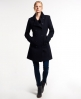 Superdry Sparkle Bridge Coat Navy