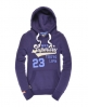 Superdry Capital Division Hoodie Purple