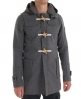 Superdry classic duffle coat Dark Grey