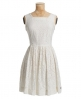 Superdry Horizon dress Ivory