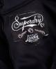 Superdry Premium Scuba Kleid Schwarz