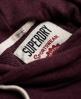 Superdry Marl Crop Hoodie Red