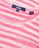 Superdry T-shirt transparent à rayures Essentials  Rose