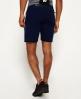 Superdry Short slim Gym Tech Bleu Marine