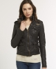 Superdry Megan Skinny Jacket Brown