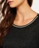 Superdry Sparkle Trim Shirt  Grau