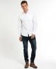 Superdry Cut Away Collar Shirt White