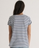 Superdry Slouch Stripe T-shirt White