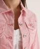 Superdry Skinny Cord Denim Jacket Pink