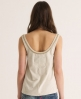 Superdry Luxe Sorority Top Light Grey