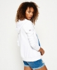 Superdry LA Athletic Zip hoodie White