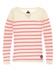 Superdry Breton Knit White