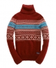 Superdry Torbery Turtle Neck Red
