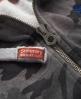 Superdry Camo Zip Hoodie Grey