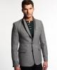 Superdry Supremacy Tough Tweed Jacket Light Grey