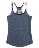 Superdry Strappy Racer Tank Top Blue