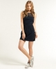 Superdry Peasant Skater Dress Navy