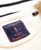 Superdry Marine Stripe Slouch Knit Jumper  Blue