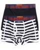 Superdry Sport Stripe Boxers Double Pack Navy