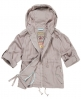 Superdry Silk Route Swing Jacket Light Grey
