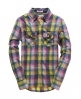 Superdry Lumberjack Twill Shirt Gold