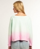 Superdry Spray Ombre Boxy Top Green