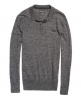 Superdry Orange Label Knit Polo Shirt  Grey