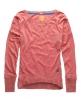 Superdry Grindle Slub T-shirt Red