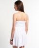 Superdry Folk Stitched Summer Dress White