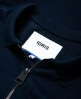 Superdry IE Zip Polo Shirt Navy