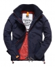 Superdry Pop Zip Windcheater Jacket Navy