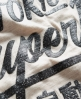 Superdry Slouch Sleeve Top Beige
