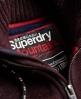 Superdry Expedition hættetrøje med lynlås  Rød