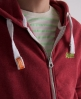 Superdry Orange Label Zip Hoodie Red