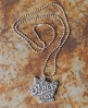 Superdry 75 Wings necklace Light Grey