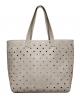 Superdry Spot Elania Tote Bag Light Grey