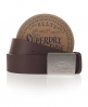 Superdry Silversmith Belt Red