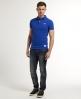 Superdry Classic Pique Polo Shirt Blue