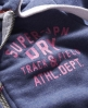 Superdry Track & Field Hoodie Blue